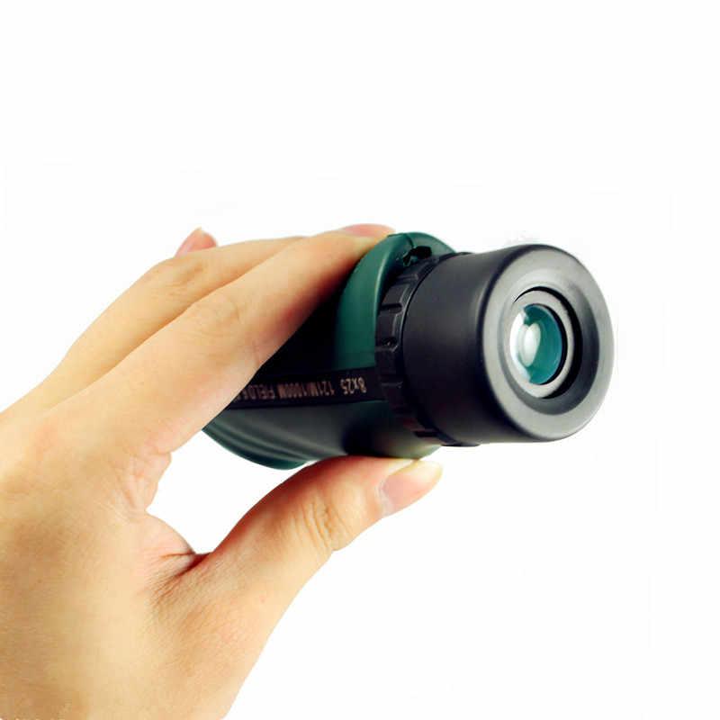 جديد 8X25 أحادي العين منخفضة ضوء ناظور أحادي العين للرؤية الليلية مناظير المهنية البصريات أداة للمسافات الطويلة عدسة مجهر
