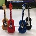 Красочные гитара USB 2.0 usb флэш-накопители большого пальца флешки u диск usb creativo memory stick 4 ГБ 8 ГБ 16 ГБ 32 ГБ 64 ГБ S331 BB