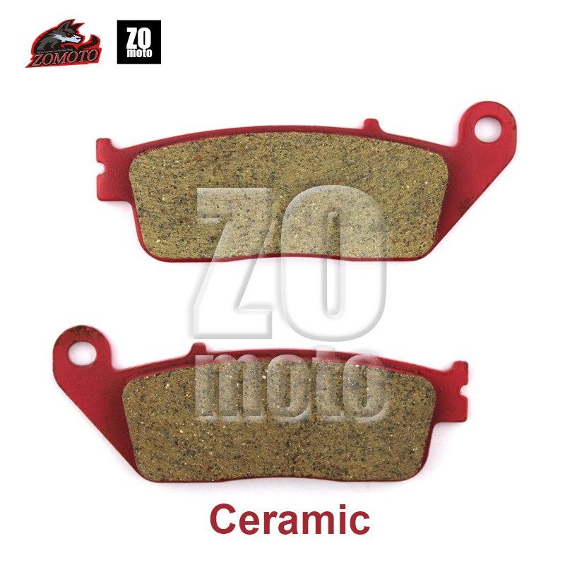 Newet бренд ZOMOTO 2016 техническое дисковые Тормозные колодки, пригодный для Honda CBR250 RS125 Триумф TIGER800 # FA226