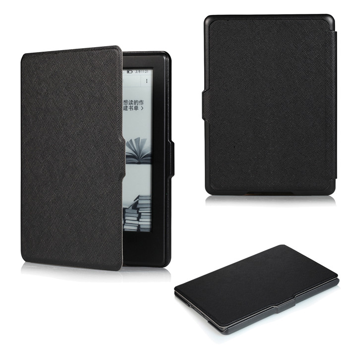 PU Leather Smart Cover Case for Amazon New Kindle 8 8th 2016 Generation Gen Fundas Version + 2 Pcs Screen Protector Gift for amazon 2017 new kindle fire hd 8 armor shockproof hybrid heavy duty protective stand cover case for kindle fire hd8 2017