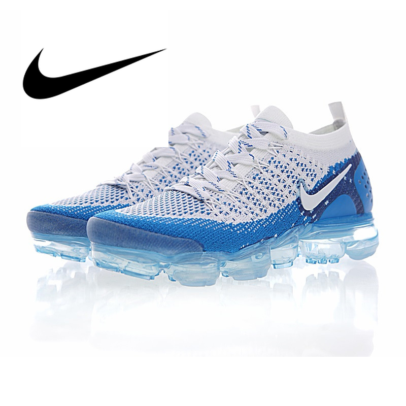 Original authentic NIKE AIR VAPORMAX FLYKNIT 2.0 mens running shoes breathable outdoor sports shoes comfortable wear 942842-104Original authentic NIKE AIR VAPORMAX FLYKNIT 2.0 mens running shoes breathable outdoor sports shoes comfortable wear 942842-104