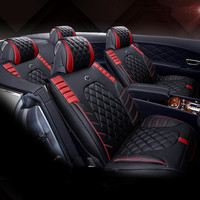 2018New 3D Sport Car Seat Cover General Cushion,Senior Leather,Car Styling For Benz BMW Audi Cadillac Lincoln SUV