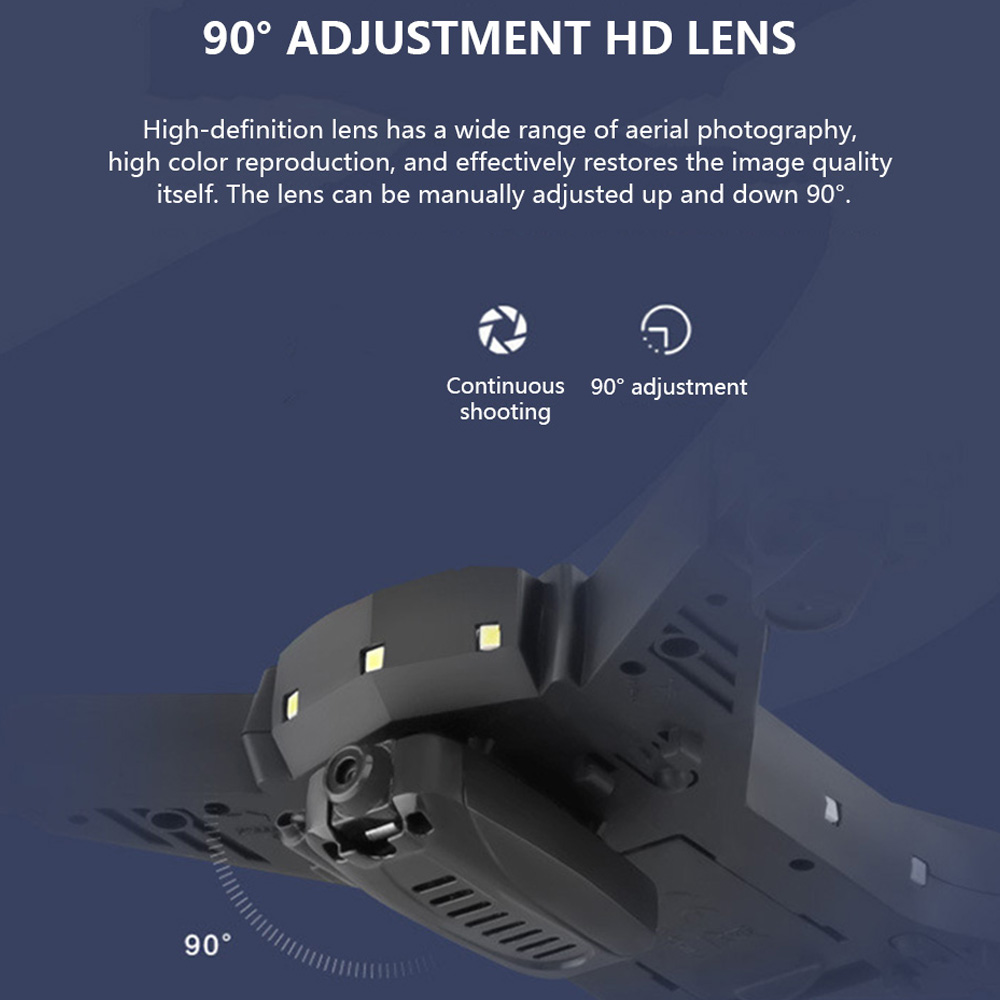Image 2 - Drone ky601s RC Helicopter Drone with Camera HD 1080P WIFI FPV Selfie Drone Professional Foldable Quadcopter 20 Minutes Battery-in RC Helicopters from Toys & Hobbies