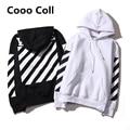 Fashion Men's brand Off White Twill Autumn And Winter kenye west Sweatshirts Justin Bieber Harajuku Hoodies oversize Cooo Coll