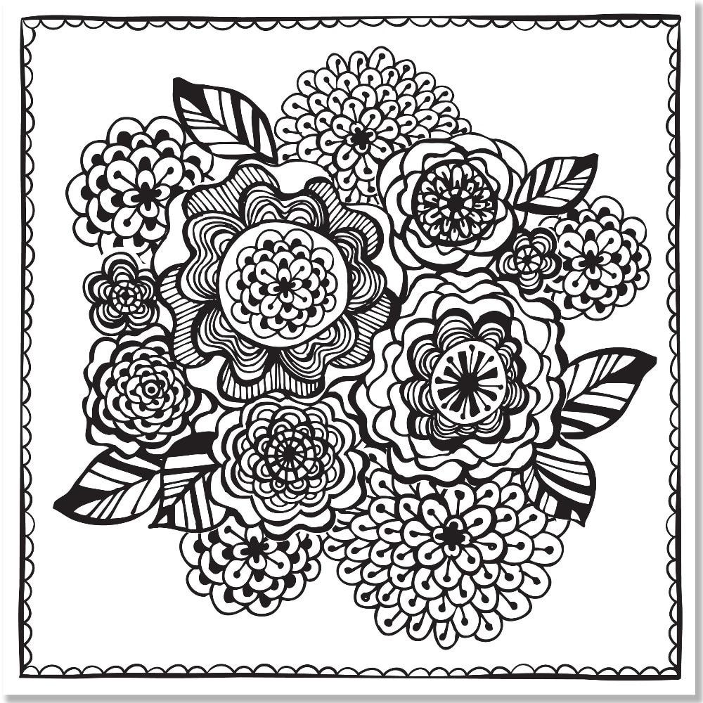 Joyful Designs Artist\'s Coloring Book (English ...