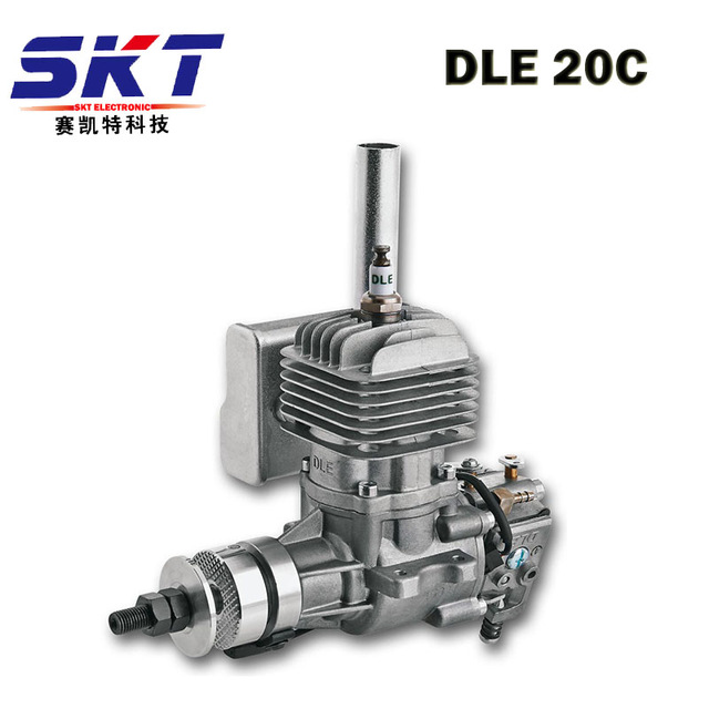 GTFDR New DLE Gasoline <font><b>Engine</b></font> <font><b>DLE20</b></font> For 20cc RC Airplane Hobby Model image
