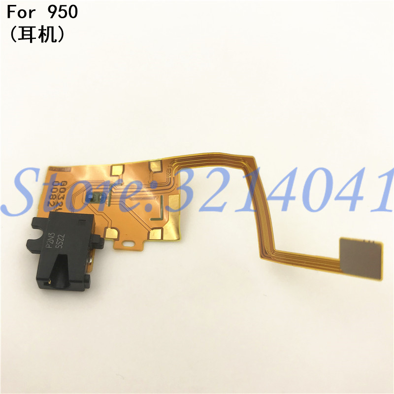 For Microsoft <font><b>Lumia</b></font> <font><b>950</b></font> Replacement <font><b>Parts</b></font> Earphone Jack Flex Cable <font><b>Part</b></font> For Microsoft <font><b>Lumia</b></font> <font><b>950</b></font> image