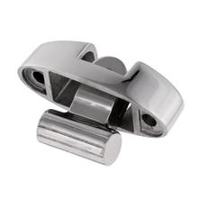 7x2.5x4.5 cm durável 316 de aço inoxidável bimini superior montagem giratória deck dobradiça com almofada de borracha acessórios/ferragem