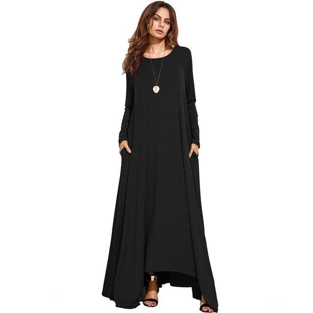 7559ad43d Vestido de maternidad para las mujeres embarazadas otoño manga larga Bottom Vestidos  gestantes señora Vestidos embarazo