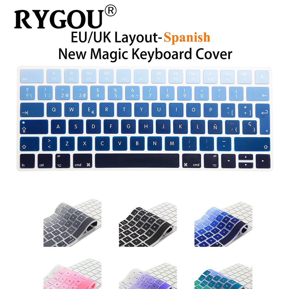 Book Cover Layout Keyboard : Spanish letters eu layout wireless keyboard stickers for