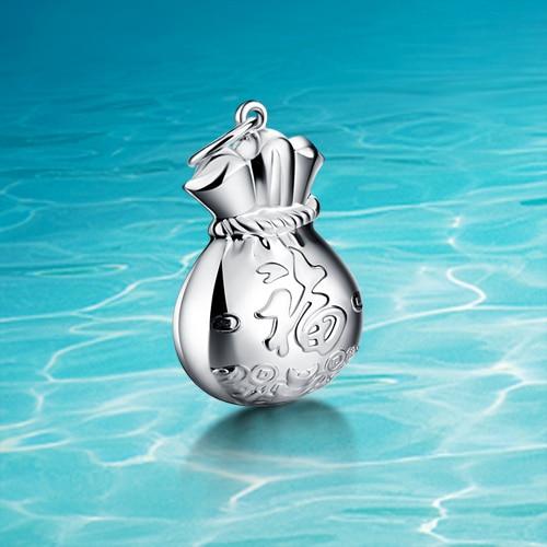 240a98bff37cc 925 Sterling silver wisiorek; 925 Sterling silver; Wysokiej jakości;;  akcesoria prezent Urodzinowy; marka biżuteria