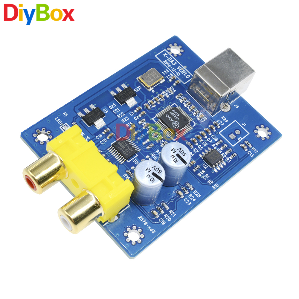 Da3 Sa9227 Pcm5102a 32bit 384khz Usb Dac Hifi Asynchronous Copper Clad Boards 10x15cm 100x150x12mm High Quality For Circuit Pcb Decoder Board Audio Decoding Module Dc 5v