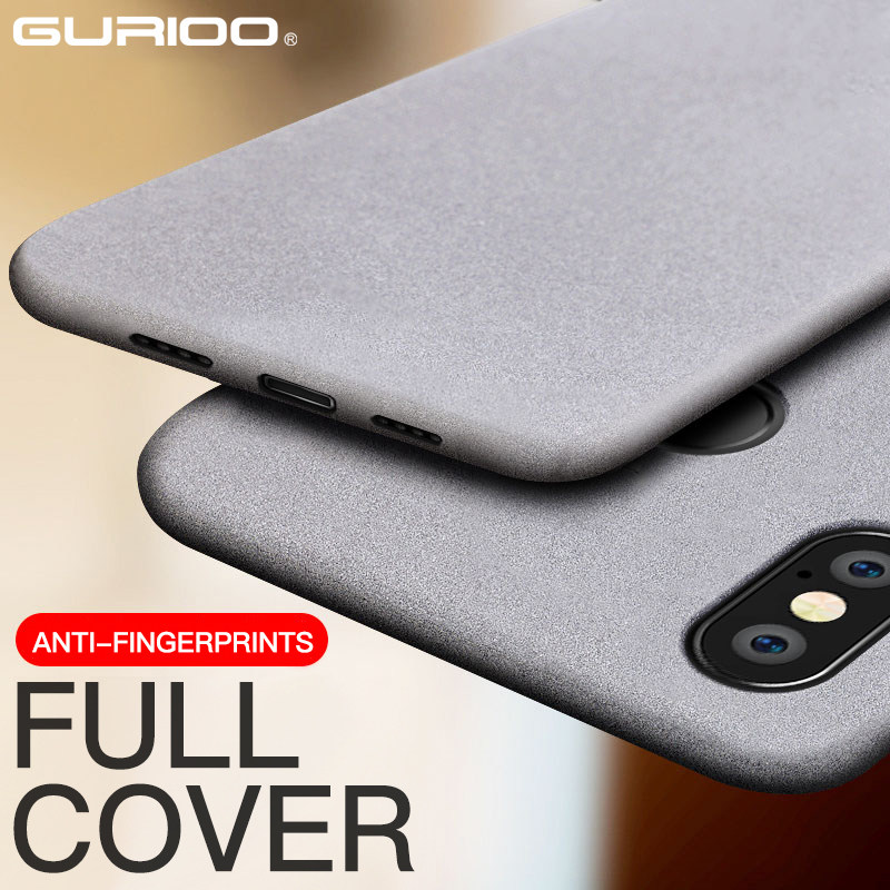 Ultra-Thin Sandstone <font><b>Case</b></font> for Xiaomi <font><b>MI</b></font> 9 9SE 8 <font><b>8SE</b></font> Lite 6 6X 5 5X 5S Plus Matte Soft Cover Redmi Note 4 4X 4A 5A 5 6 6A Pro 3 S image
