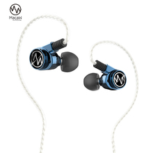 Ara GT600s Pro Hybrid Fahrer NoiseCancelling Kopfhörer Monitor DJ Hifi Stereo Mmcx Metall Musik Kopfhörer Abnehmbare Kabel