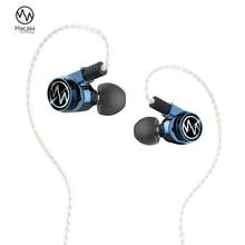 Macaw GT600s Pro hybride pilote silencieux écouteurs moniteur DJ Hifi stéréo Mmcx métal musique écouteur câble détachable