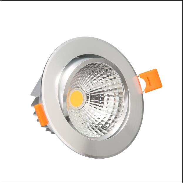 Super Bright 1kpl Dimmable Led -valonheitin COB-katto ac110-220v - Sisävalaistus