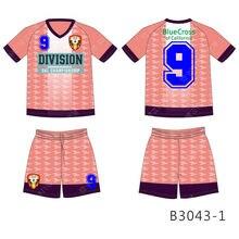 plain V neck  slim fit soccer jersey original football jerseys