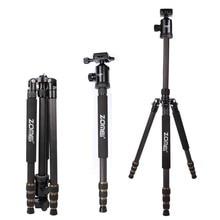 ZOMEI Z688C Professional Carbon Fiber Tripod Outdoor Stand Holder for Canon Nikon Sony Pentax Digital DSLR