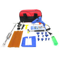 38pcs PDR Paintless Dent Repair Puller Car Auto Hails Removal Slider Hammer Tools Kit
