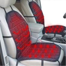 12V ısıtmalı araba koltuk minderi örtüsü koltuk, isıtıcı isıtıcı, kış ev yastık cardriver ısıtmalı koltuk minderi