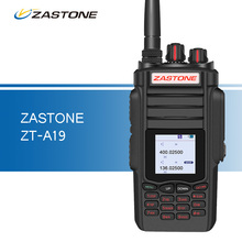 ZASTONE ZT-A19 Walkie Talkie 10W 2800mAh VHF UHF Dual Band Portable Walkie Talkie Handheld Two Way Radio Communitor Transceiver
