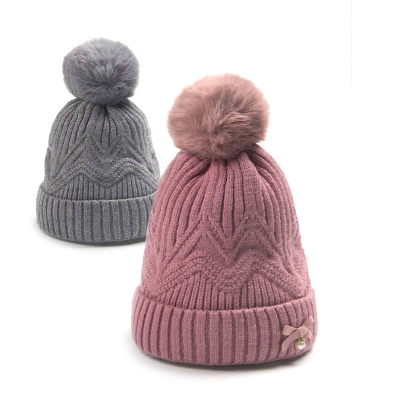 16*19cm Baby Hat Autumn Winter 1year Childrens Head Cap Boys And Girls Cartoon Baby Warm ...