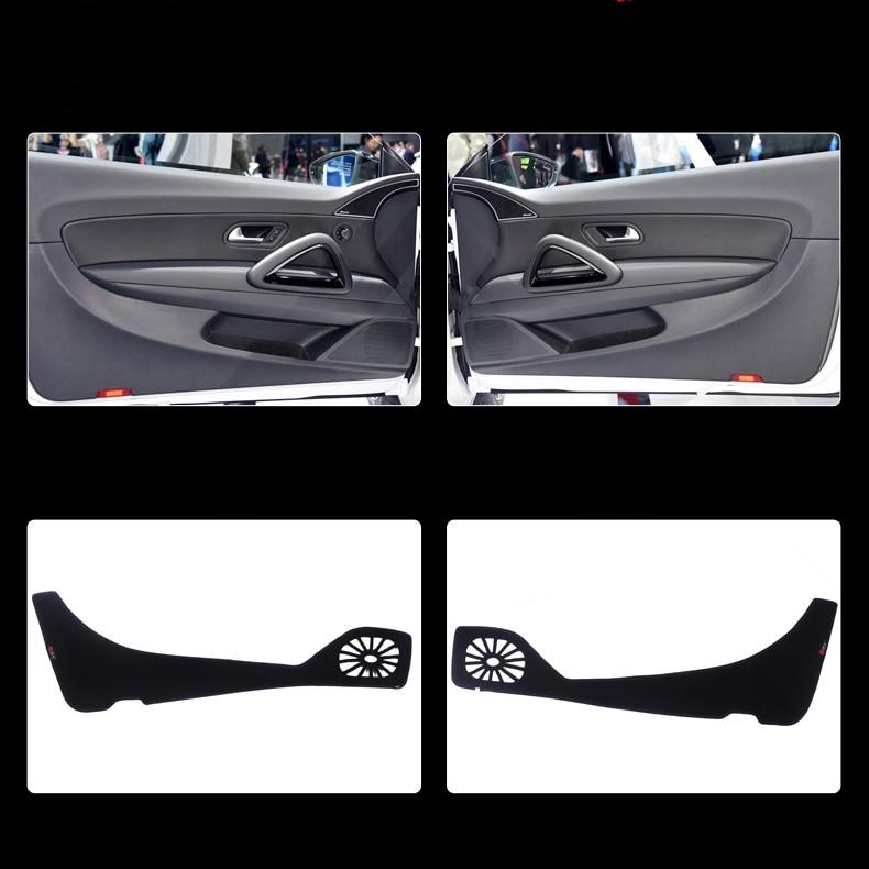 2 pcs Tissu Porte Protection Tapis Anti-kick Décoratif Tapis Pour Volkswagen Scirocco 2009-2015