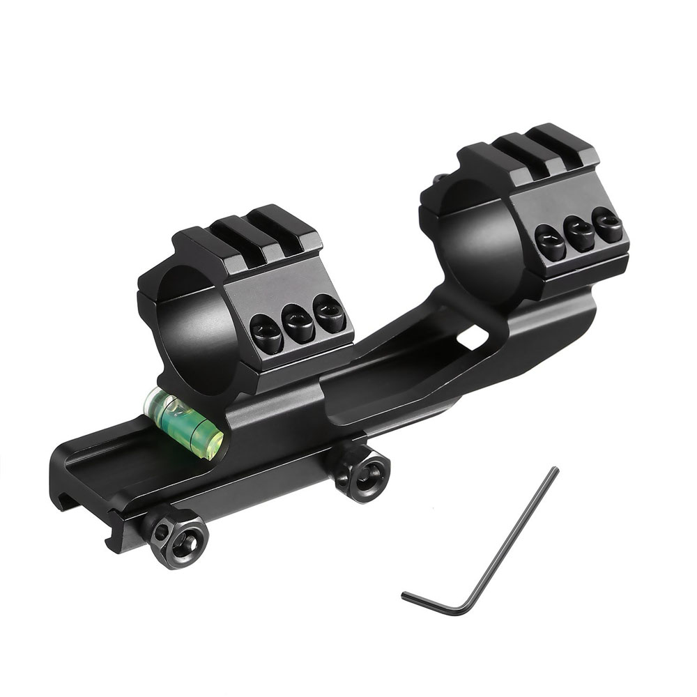 Tensdarcam One Piece Scope Mount Anti Cant Device Bubble Level for 30mm Diameter Riflescopes