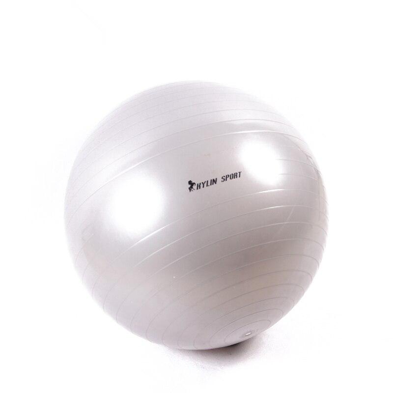 Spor Ekipmanları Üst Pürüzsüz 2015 Yeni Hakiki Yoga Topları Home Gym Egzersiz Pilates Ekipmanları Fitness Topu Pompası 85 cm