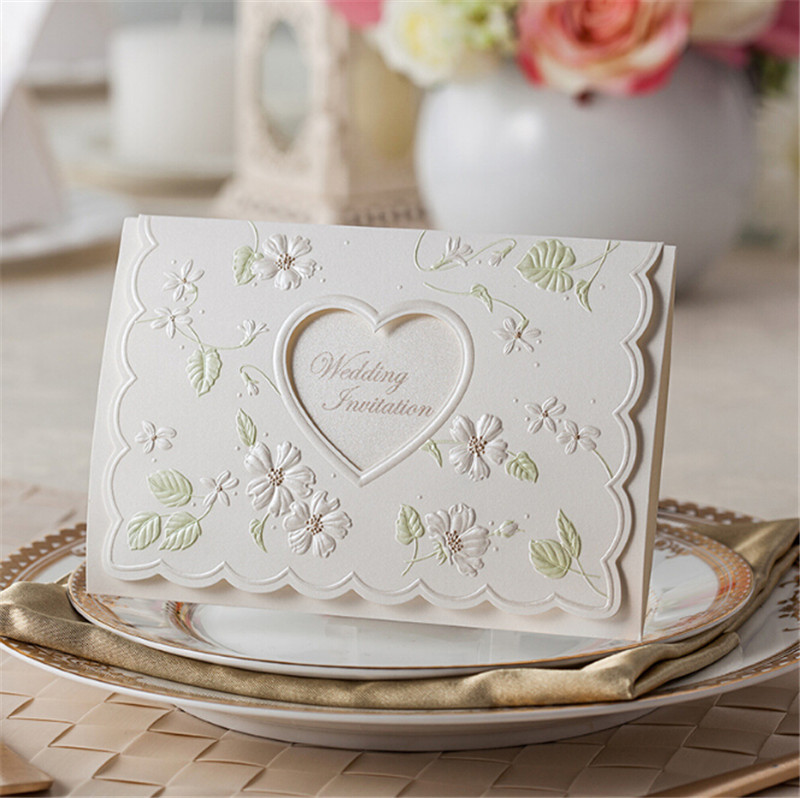 Fancy luxurious white muslim bengali handmade paper laser cut love fancy luxurious white muslim bengali handmade paper laser cut love heart shape wedding invitation card 2015 in cards invitations from home garden on stopboris Image collections