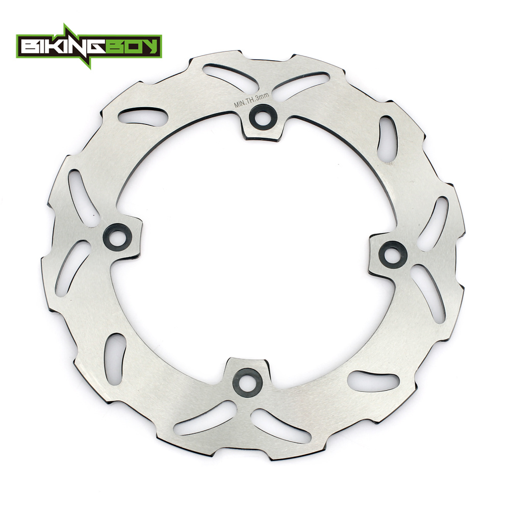 BIKINGBOY Rear Brake Disc Rotor Disk For SUZUKI TS 125 250 R DR250SE 93-95 DR 250 350 S  ...
