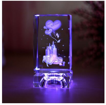 Crystal Rose Day Gift Birthday Girlfriend Gifts Send Wife Honey Decoration On Aliexpress