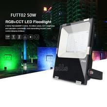 Miboxer 10W/20W/30W/50W RGB+CCT LED Flood light AC86-265V FUTT02 IP65 Waterproof Outdoor Lighting For Garden