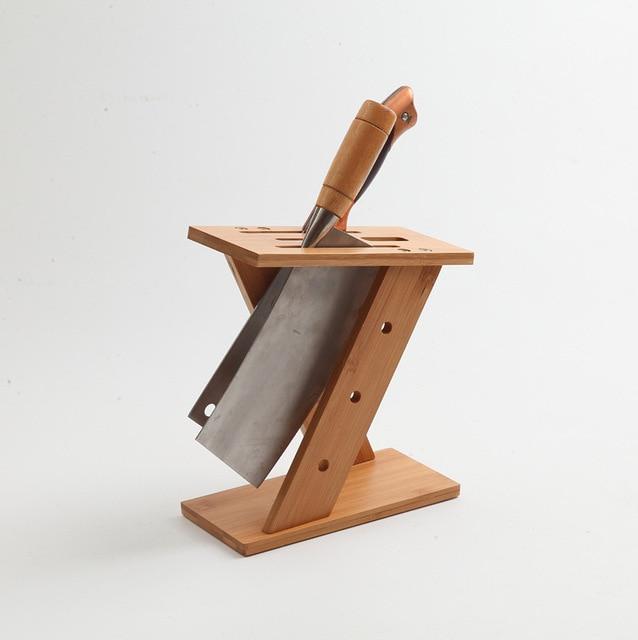 Bambus Messer Kuche Multifunktionale Rack Cutter Rack Set Menu