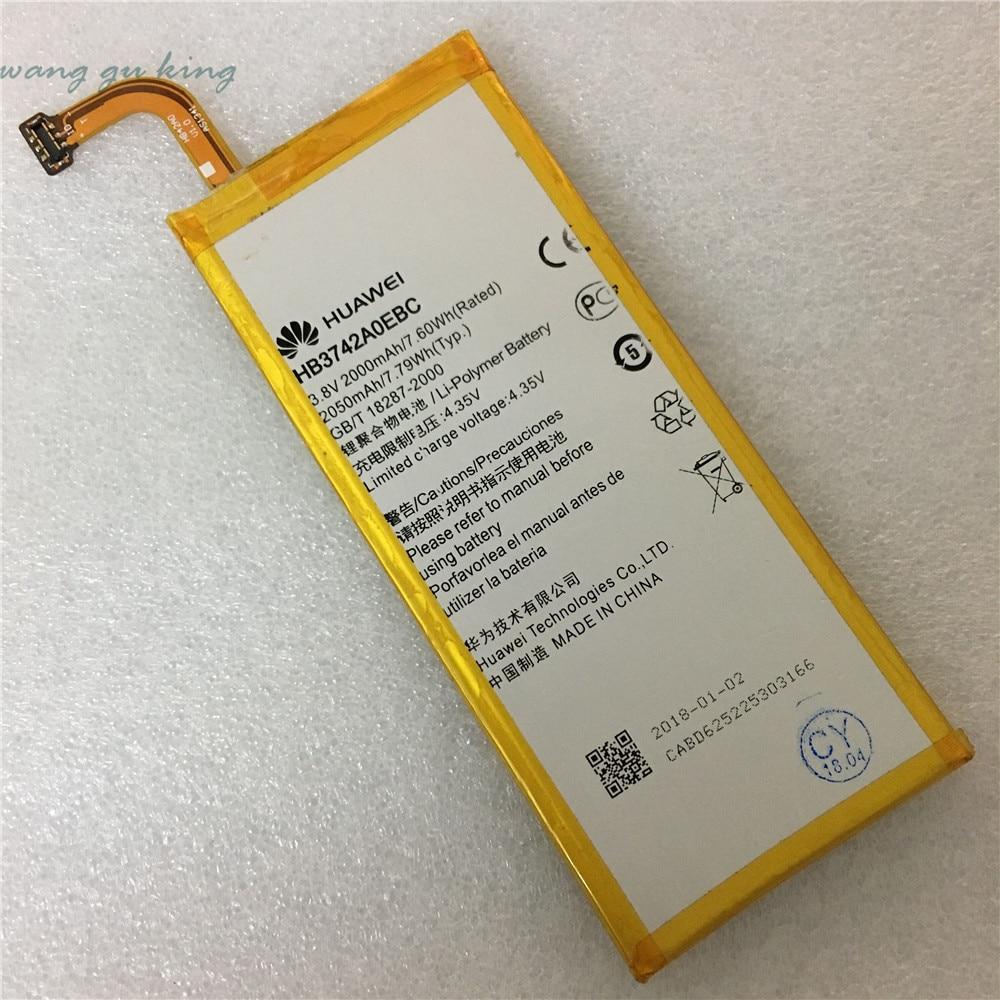 Original New 3 8V 2000mAh HB3742A0EBC Battery For Huawei