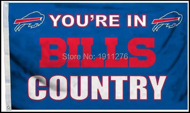 Buffalo Bills Flag NF* National Football League 3ft x 5ft Polyester Banner Flying 150* 90cm Custom flag sport Helmet