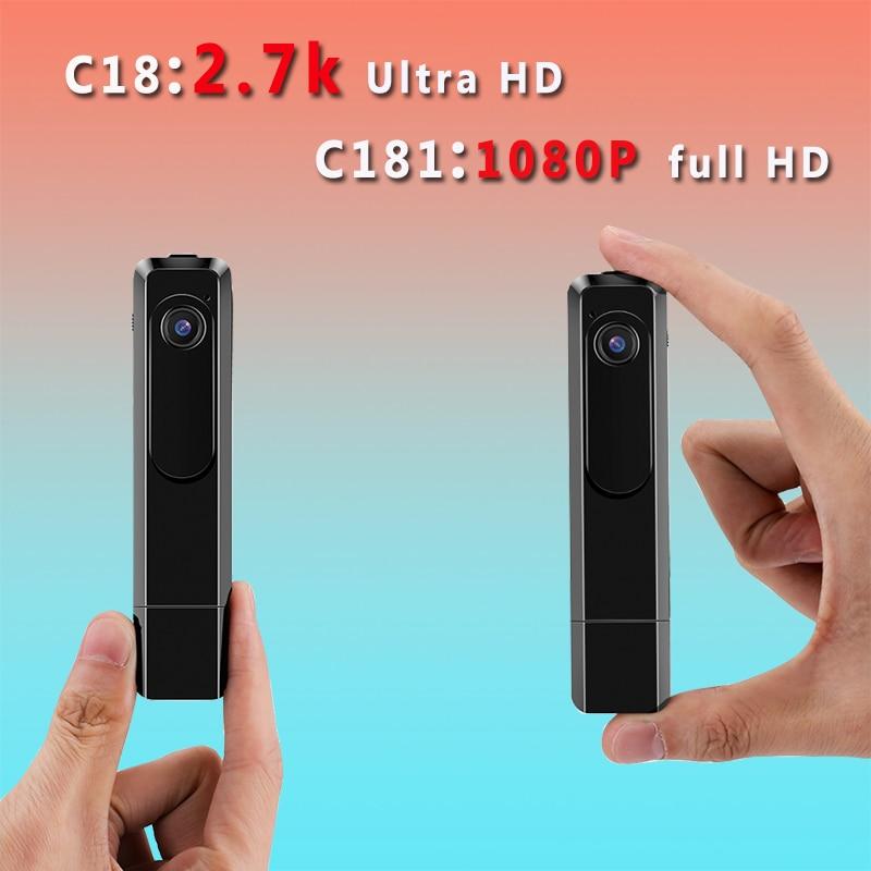 C18 Mini Camera 2 7K HD H 264 Pen Camera Portable Working When Charging Voice Recorder