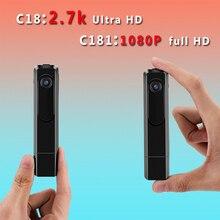 C18 мини Камера 2.7 К HD H.264 ручка Камера Портативный работать, когда зарядка голосовые Регистраторы Mini DV видеокамеры Micro Камера espion