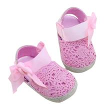 2017 Children Baby shoes slippers Infant Toddler Princess First Prewalker Bow Kids First Walkers For Girl Boy