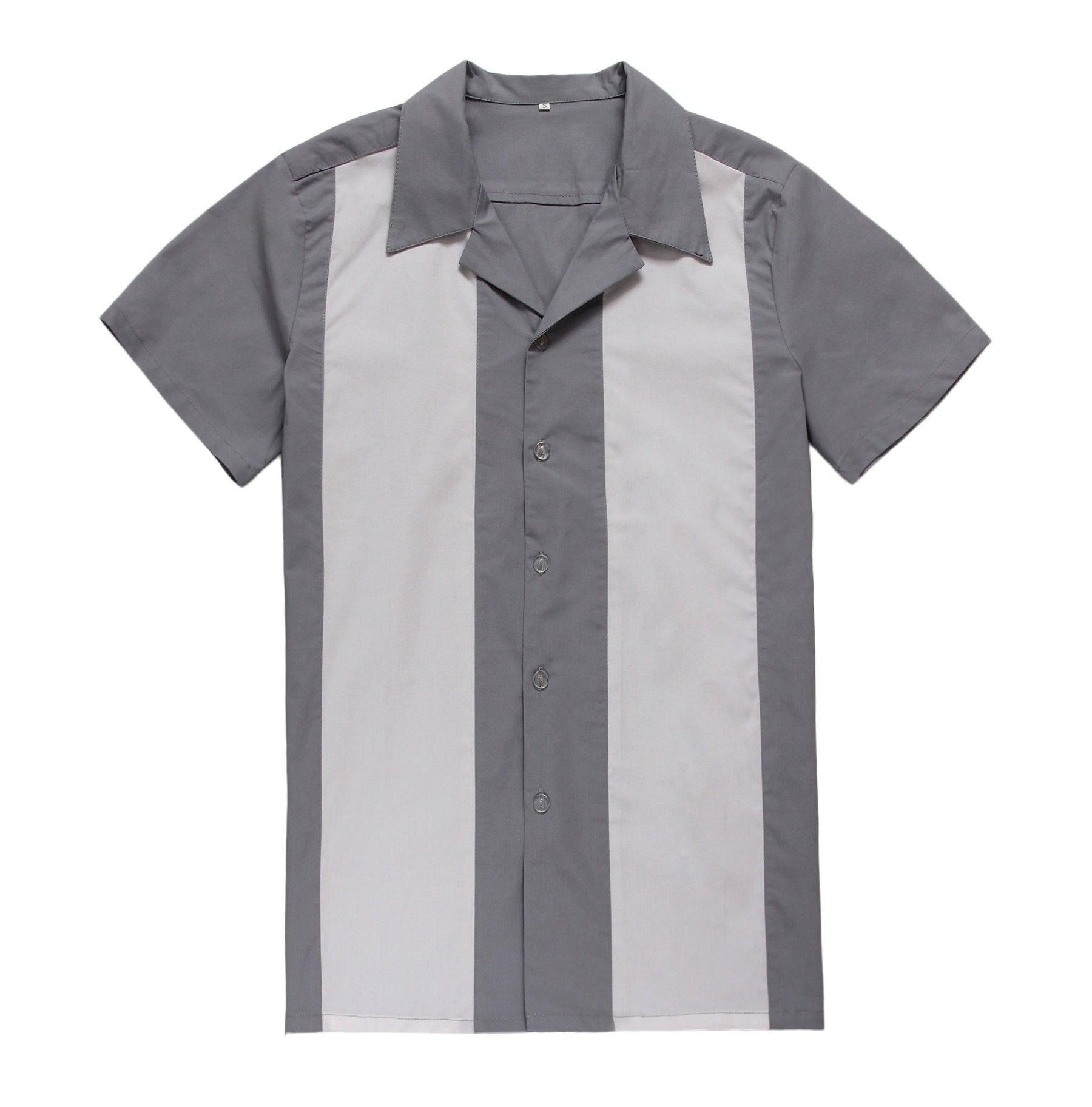 Popular Rockabilly Shirts Men-Buy Cheap Rockabilly Shirts Men lots ...