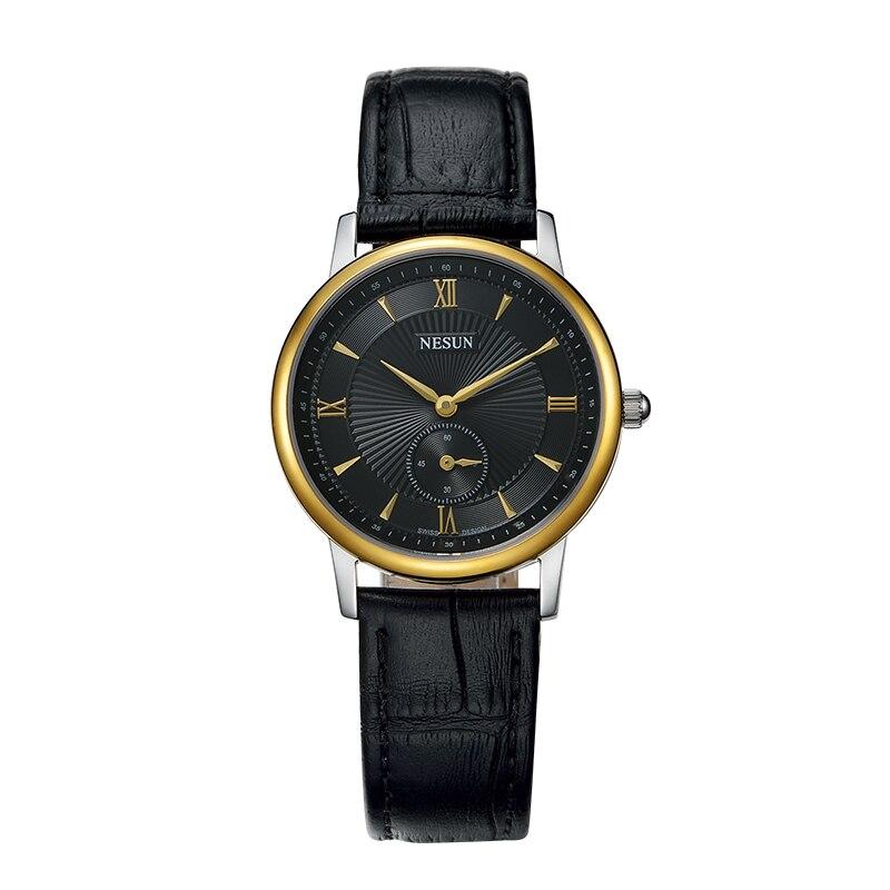 Nesun Switzerland Luxury Brand Watch Women Japan MIYOTA Quartz Movement Women's Watches Genuine Leather Couple's Clock N8501-LW4