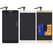 Black White Gold LCD+TP for Xiaomi max Mi Max 6.44″ LCD Display+Touch Screen Digitizer Assembly Replace Part Free Shipping+Tools