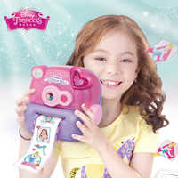 Disney Princess pretend play Beauty Fashion Toys Magic Sticker Paper Machine Girl Birthday Gift Child Girl Toy for children
