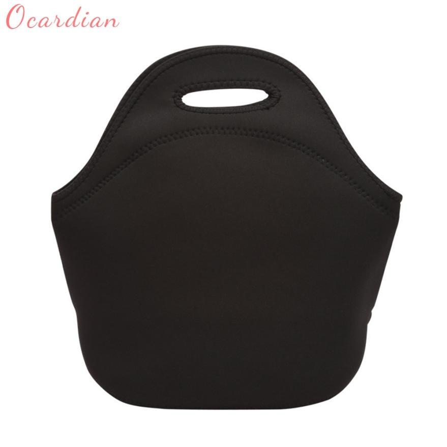Neoprene Thermal Lunch Bag Waterproof Food Beverage Bento Box Storage Tote bag C0105