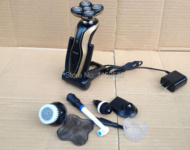 Venda quente barbeador elétrico de barbear 5 em 1 Melhor Qualidade para homens Enfrentam Barbear Navalha Lâmina de Barbear Lâmina de Barbear Lâminas De Barbear para o sexo masculino