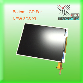 50PCS/LOT Original NEW Promotion Down LCD Display Screen For Nintend NEW 3DS XL Bottom LCD Screen For NEW 3DS LL