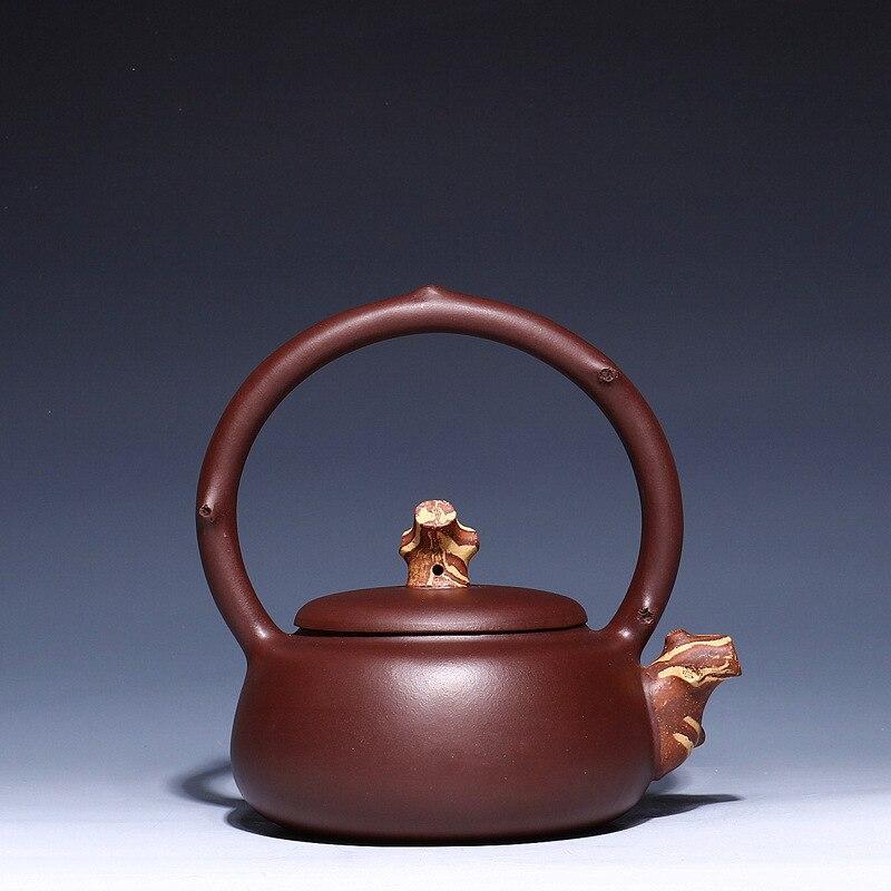 Чайный горшок из керамики ручной конкурентоспособной продукции чайный набор с ручкой ивы чайный горшок цветной рисунок или узор кунг фу он... - 3