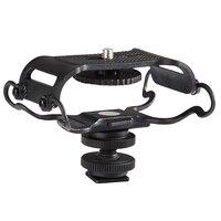 Top Deals Microphone và Ghi Âm Cầm Tay Sốc Mount-Phù Hợp Với Zoom H4n, H5, H6, Tascam DR-40, DR-, DR-07