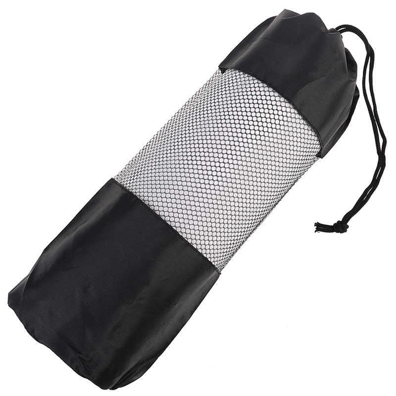 スポーツエクササイズ · ヨガバッグキャンバス実用ヨガピラティスマットキャリーストラップ巾着バッグジムバッグフィットネスバックパック 35*10.5 センチメートル