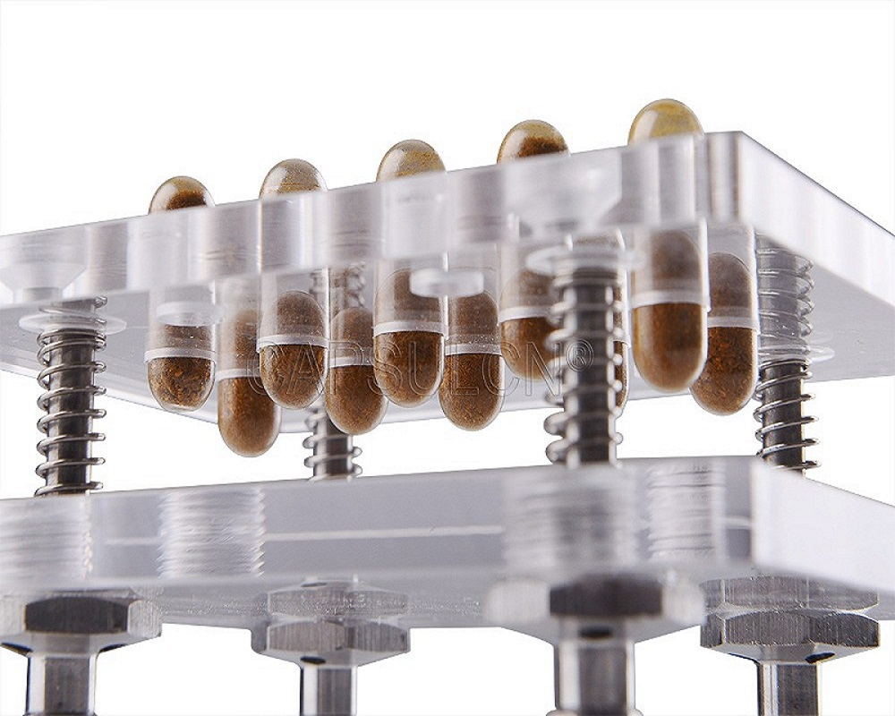New Hight Quality 10 Capsules/ Time Size 000-5  Capsule Filler/encapsulator Machine, Suitable For The Separated Capsule
